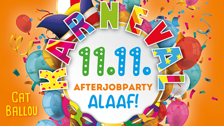 AfterJobParty Alaaf