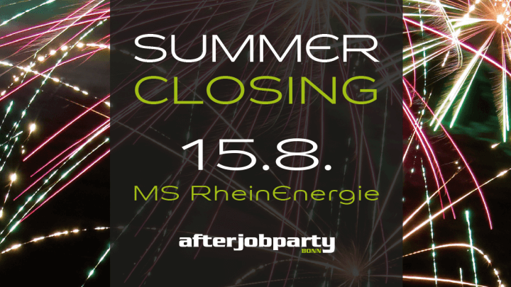 AfterJobParty - Summer Closing