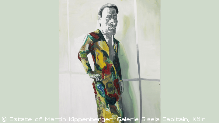 Ohne Titel: Martin Kippenberger(aus der Serie Window Shopping bis 2 Uhr nachts), 1996, Private Collection © Estate of Martin Kippenberger, Galerie Gisela Capitain, Köln
