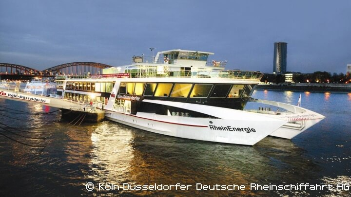 Rhein in Flammen - VIP-Party MS RheinEnergie