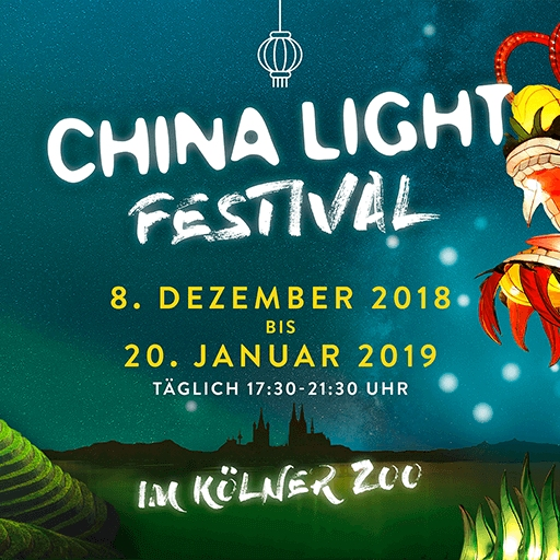 China Light Festival im Kölner Zoo 2028/2019